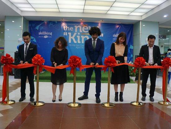 Cơ sở FPT Skillking tại Hà Nội đã khai trương ngày 14/4/2018, với 30 sinh viên