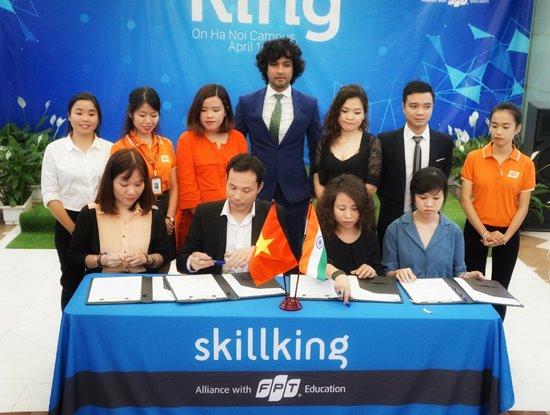 Các doanh nghiệp hoạt động trong lĩnh vực Digital Marketing đã ký cam kết cung cấp việc làm cho các sinh viên sau khi tốt nghiệp FPT Skillking.
