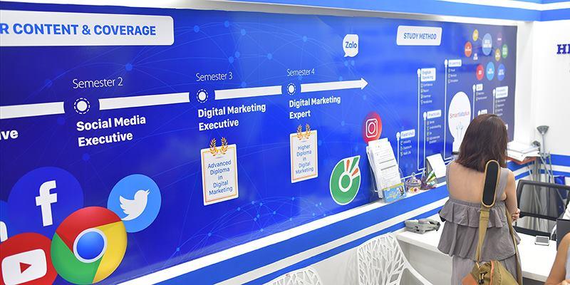 Mô hình hợp tác đào tạo Digital Marketing đầu tiên tại Việt Nam
