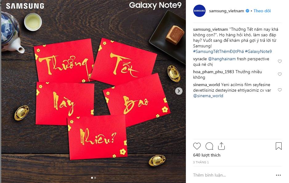 Tinh tế như Instagram của Samsung
