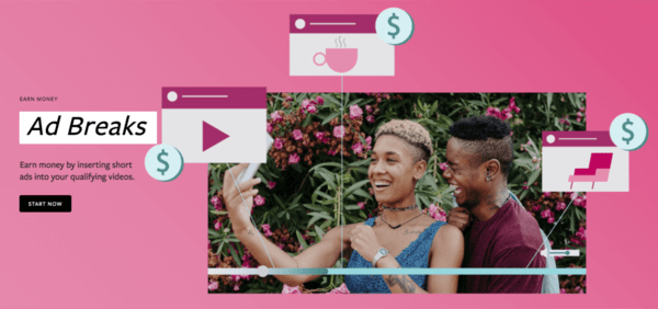 Cách kiếm tiền từ Facebook Adbreaks
