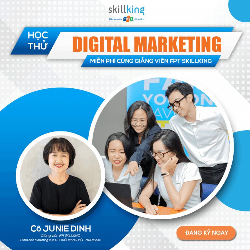học thử digital marketing