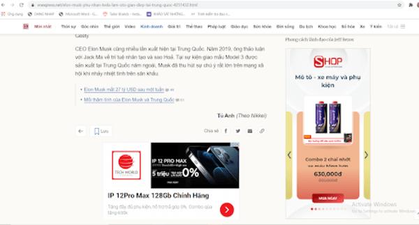 Các dạng quảng cáo Google Ads