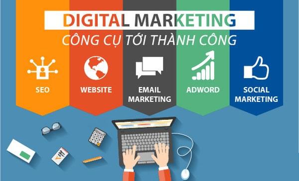 Các công cụ phổ biến trong Digital Marketing