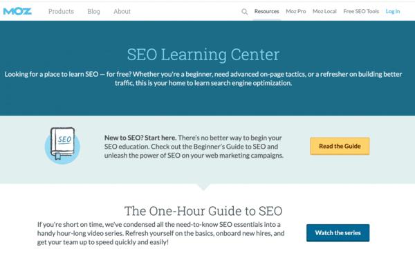 MOZ đào tạo SEO Online miễn phí